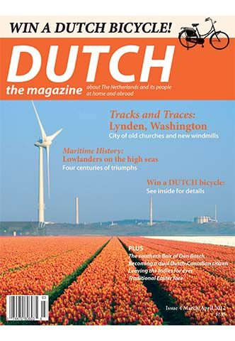 Dutch 2012 03 04 cover with tulips and windmills