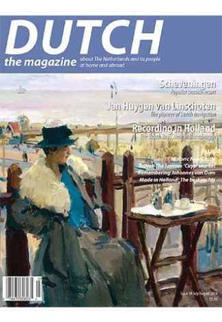 Dutch 2014 07 08 cover with Scheveningen painting