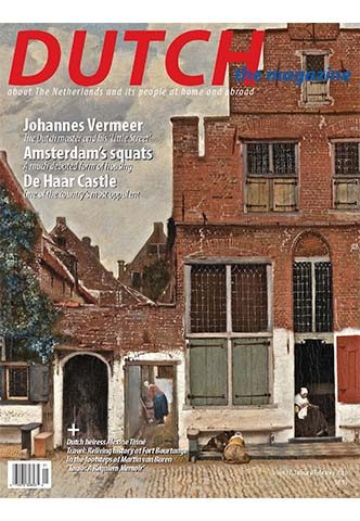 Dutch 2016 01 02 cover with Delft houses