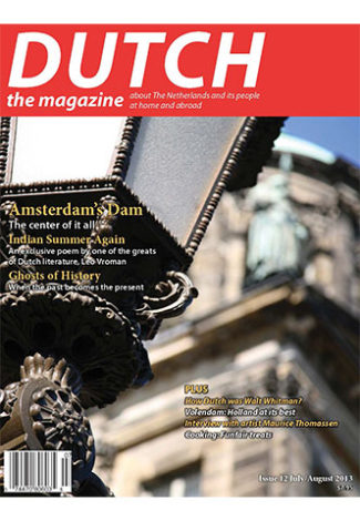 Dutch 2013 07 08 cover with Amsterdam's Dam