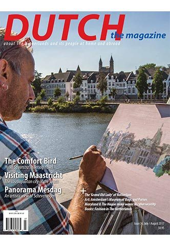 Dutch 2017 07 08 cover with artist's view of Maastricht