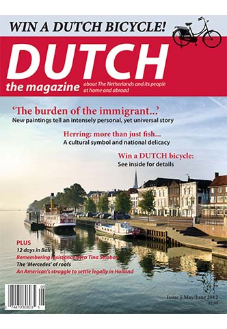 Dutch 2012 05 06 cover with boats in Ijssel