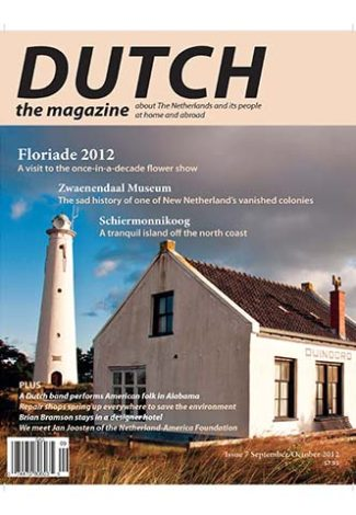 Dutch 2012 09 10 cover with Schiermonnikoog