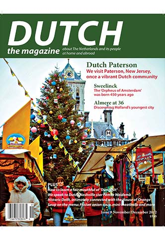 Dutch 2012 11 12 cover with Delft Christmas tree