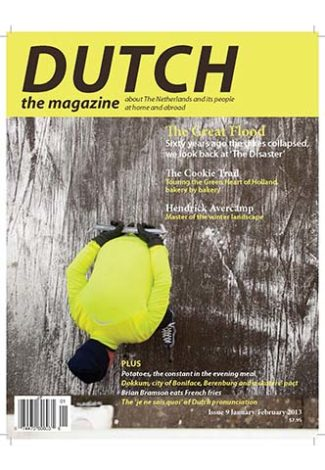 Dutch 2013 01 02 cover with Dokkum speed skater