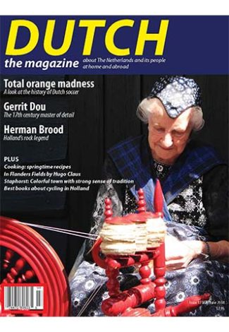 Dutch 2014 05 06 cover with woman at spinning wheel