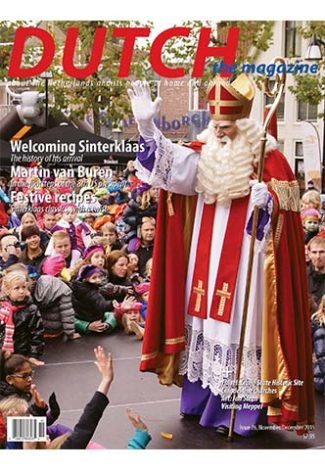 Dutch 2015 11 12 cover with Sinterklaas