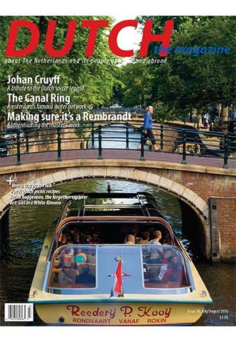 Dutch 2016 07 08 cover with Amsterdam Canal Ring