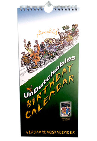 UnDutchables Birthday calendar