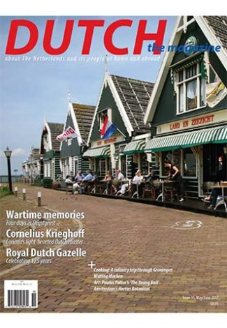 Dutch 2017 05 06 cover with the dike in Marken