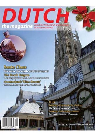 Dutch 2013 11 12 cover with De Grote Kerk
