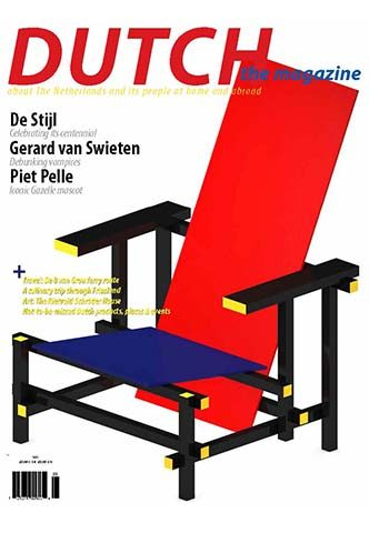 Dutch 2017 09 10 cover with Rietveld Red Blue chair