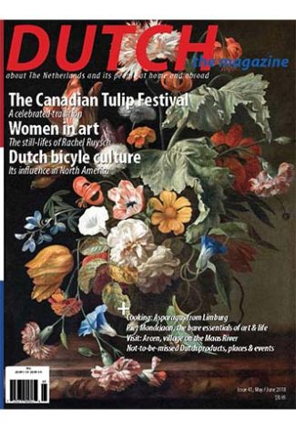 Dutch 2018 05 06 cover with still life flowers