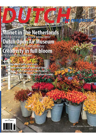 Dutch 2018 sep/oct cover with Bloemenstal Delftstraat