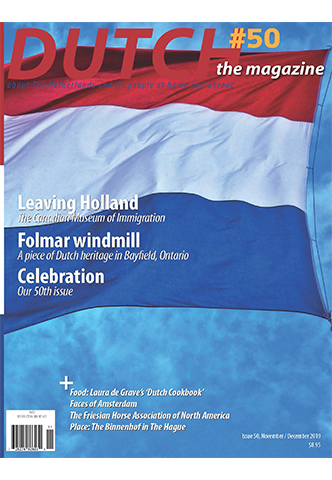 Dutch 2019 11 12 cover with Dutch Flag